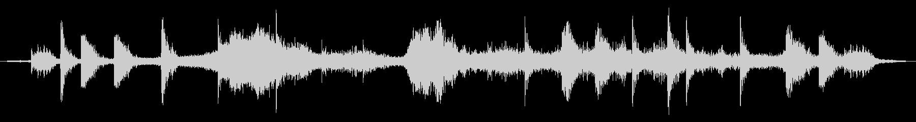戦場イメージの効果音(タイプB)の未再生の波形