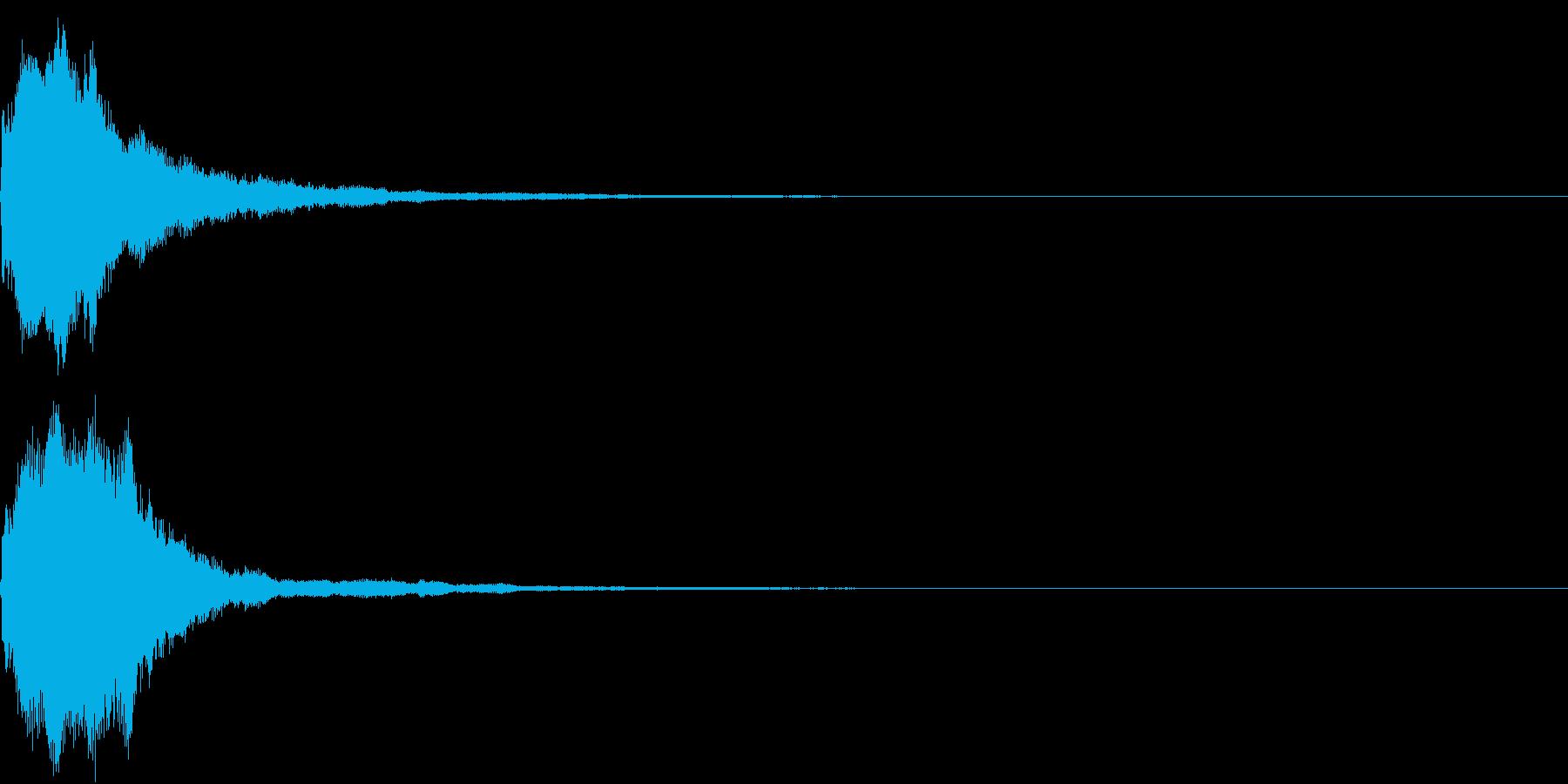 キラキラ 発見 見つける 発明 開始 2の再生済みの波形