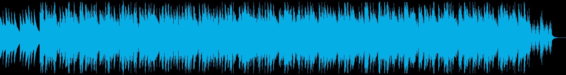 不穏でミステリアスなミニマルミュージックの再生済みの波形