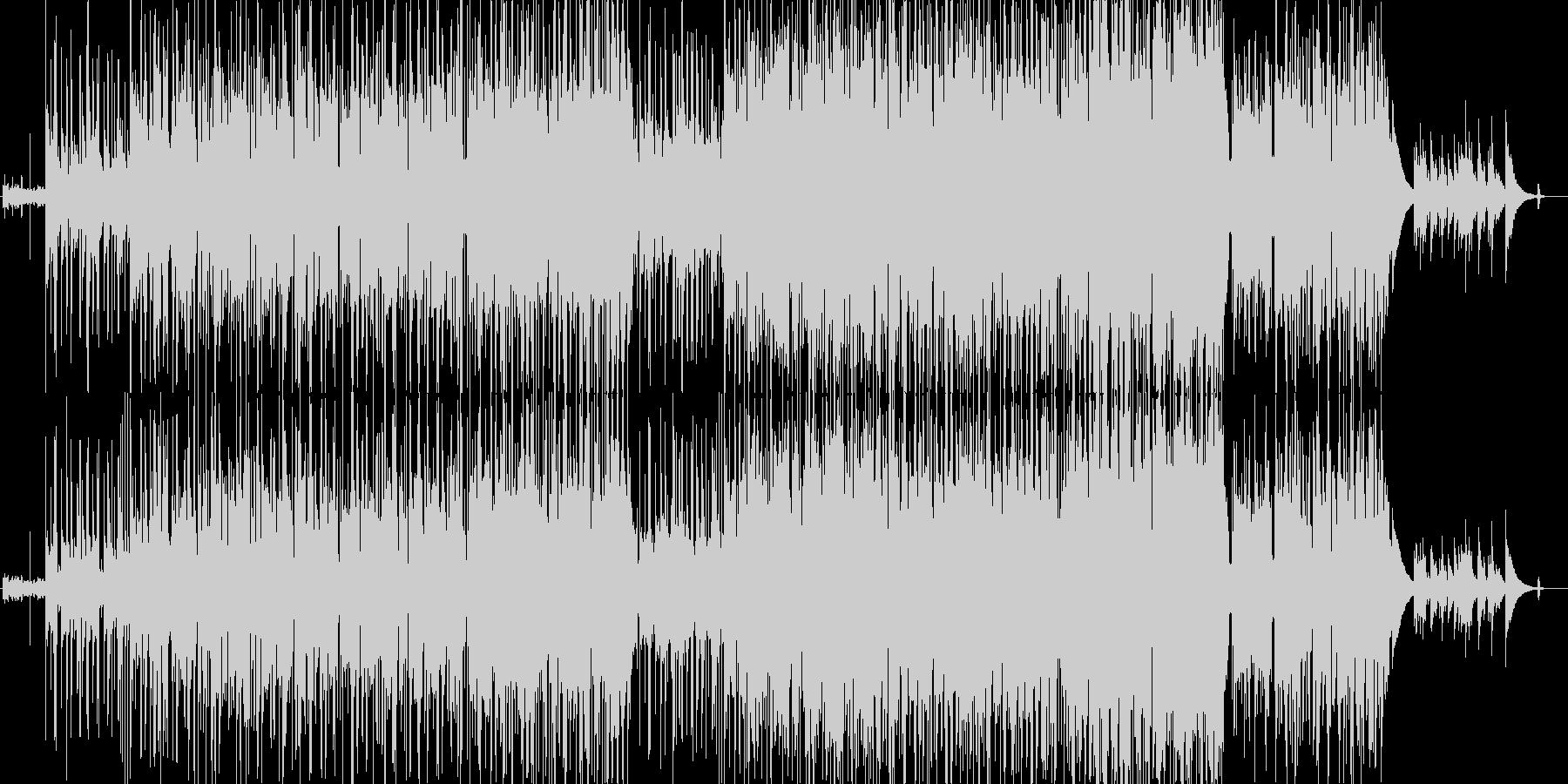 優しく和む感動的なポップス アコギの未再生の波形