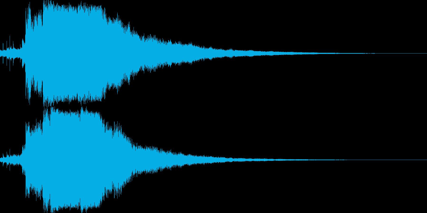 シャキーン♪クリア,達成,回復等に12bの再生済みの波形