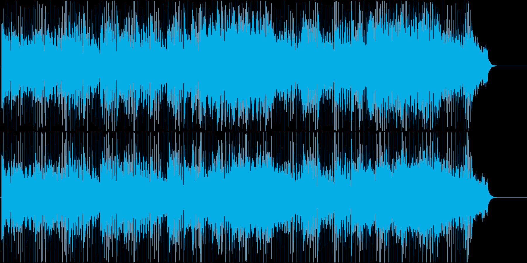 軽快 いきいき さわやか 情報 ドライブの再生済みの波形