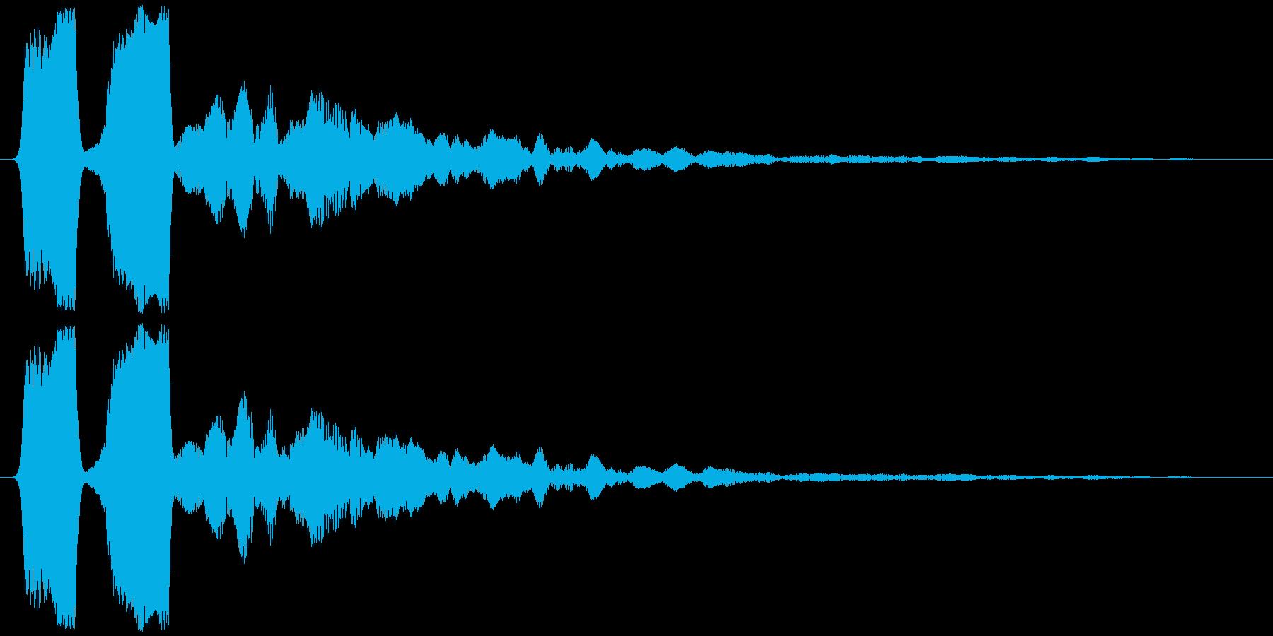 ソナー (戦闘艦、戦闘機等) ピィッッ…の再生済みの波形