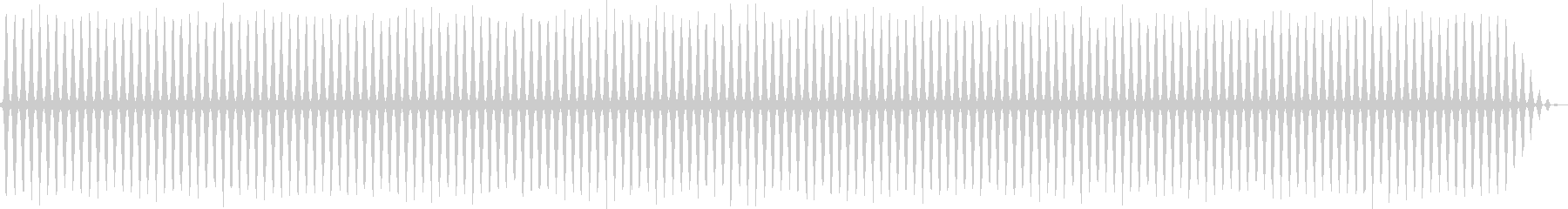 レトロゲームにありそうなヘリコプターの音の未再生の波形