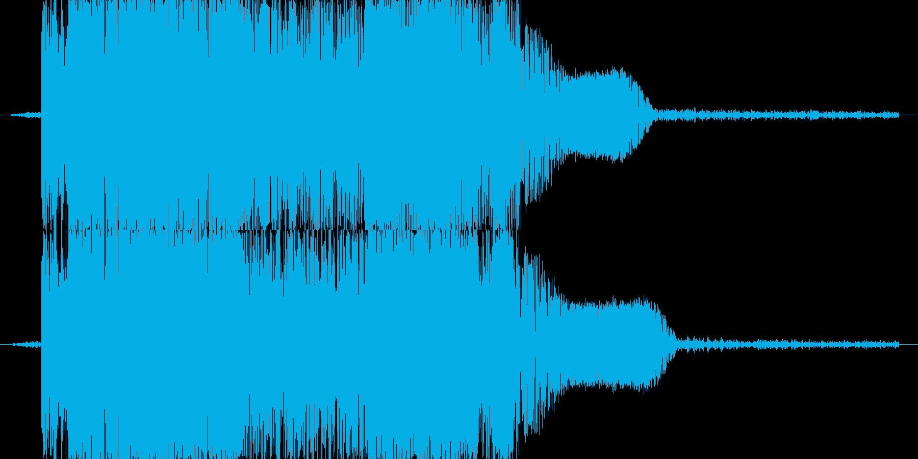 ズバッ!(剣で切る音)の再生済みの波形