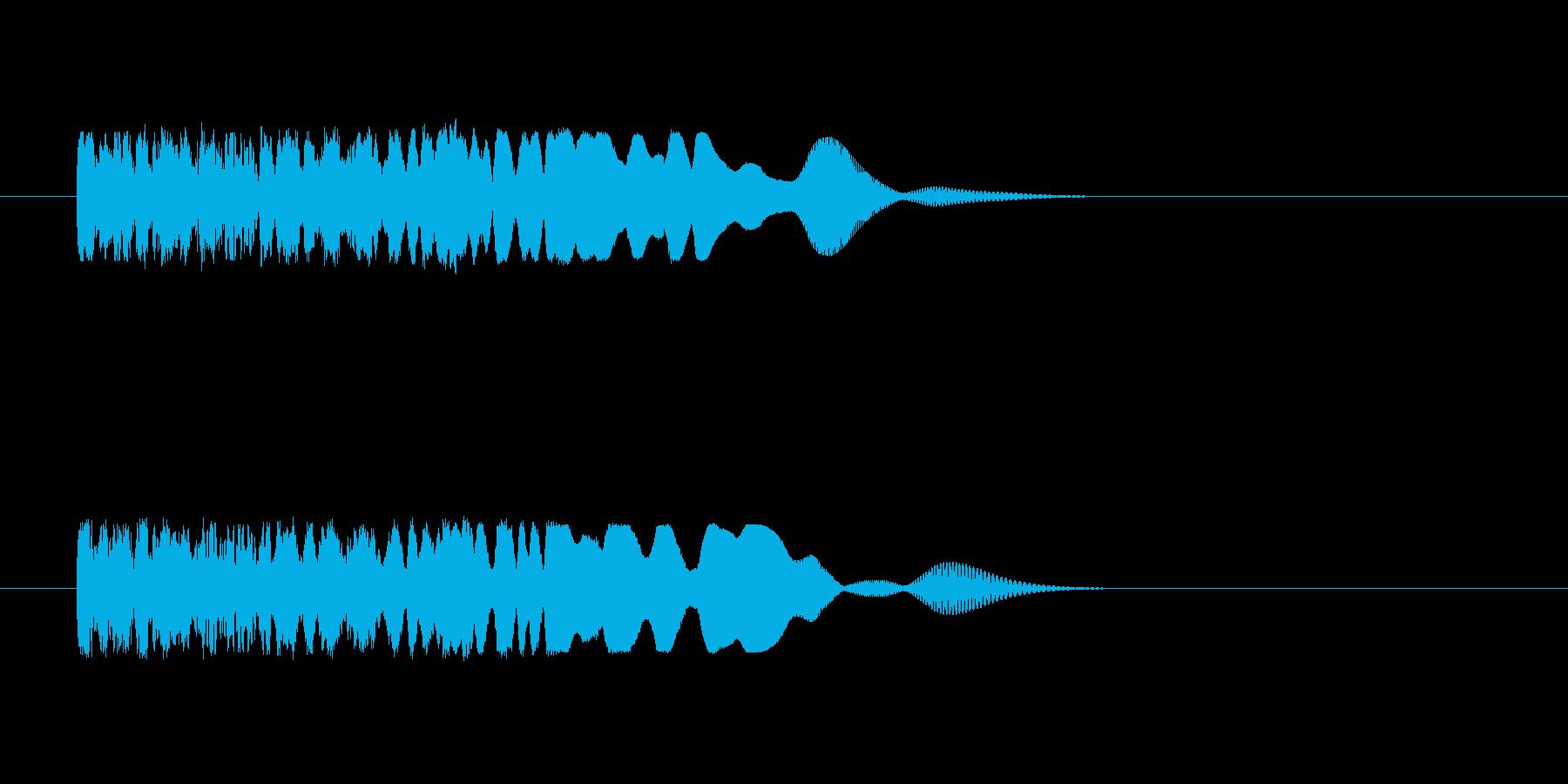 ワープする時のSEの再生済みの波形