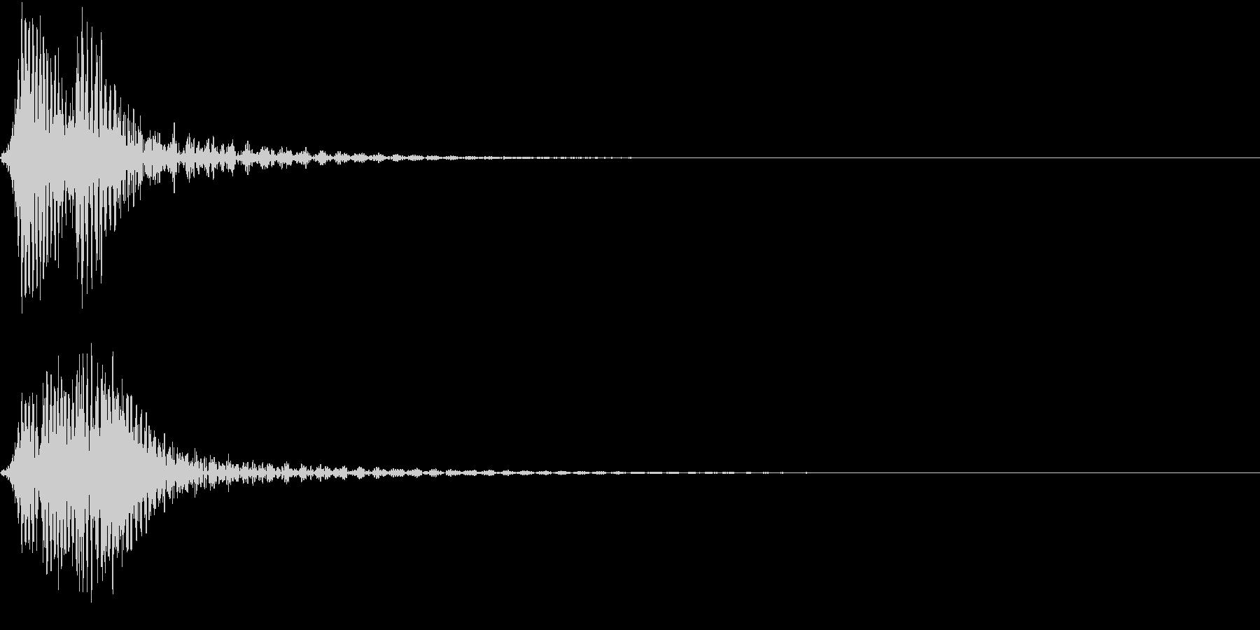 ファオン(コミカルなイメージのキャンセルの未再生の波形