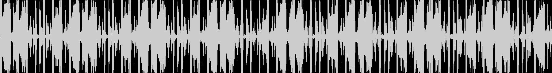明るいトランス・EDM風BGMです。の未再生の波形