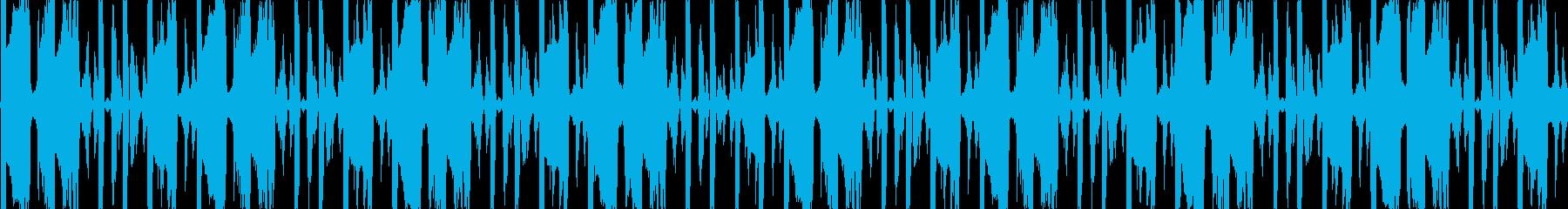 明るいトランス・EDM風BGMです。の再生済みの波形