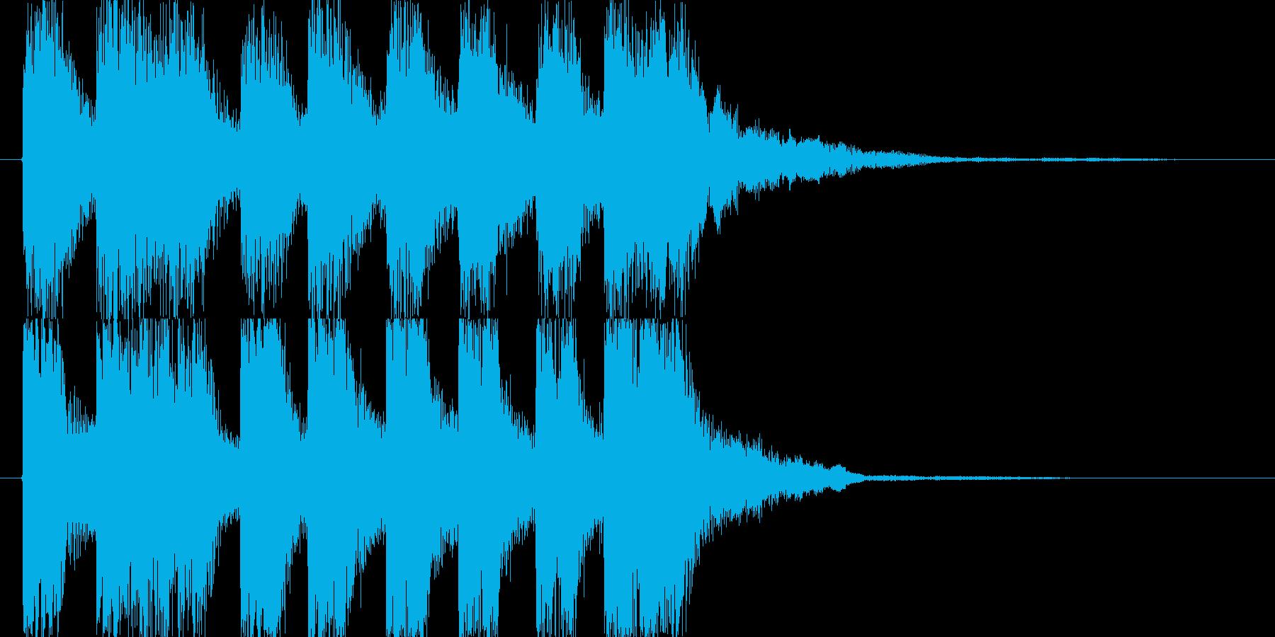 レベルアップやクリア時などのSEの再生済みの波形