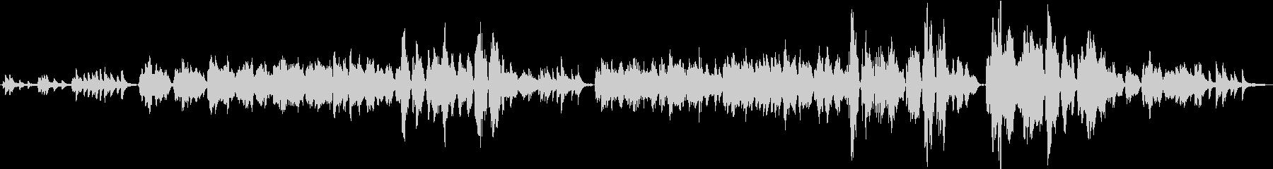 ノスタルジック/フルートとピアノ/生演奏の未再生の波形