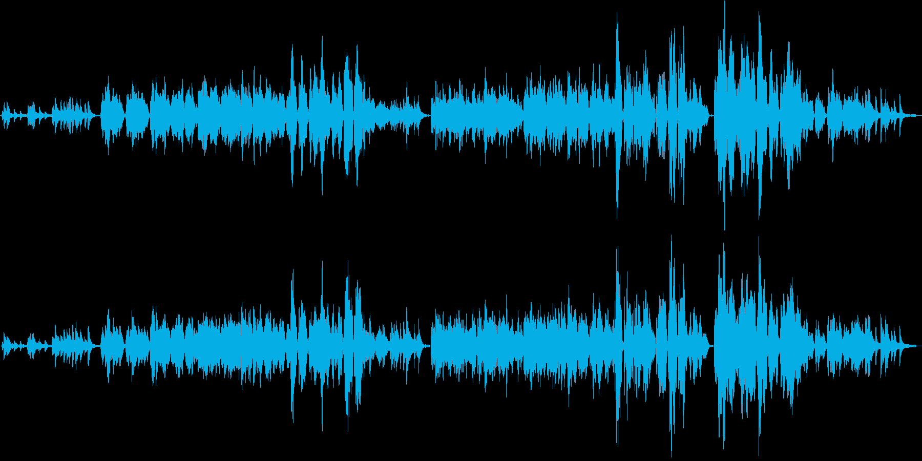 ノスタルジック/フルートとピアノ/生演奏の再生済みの波形
