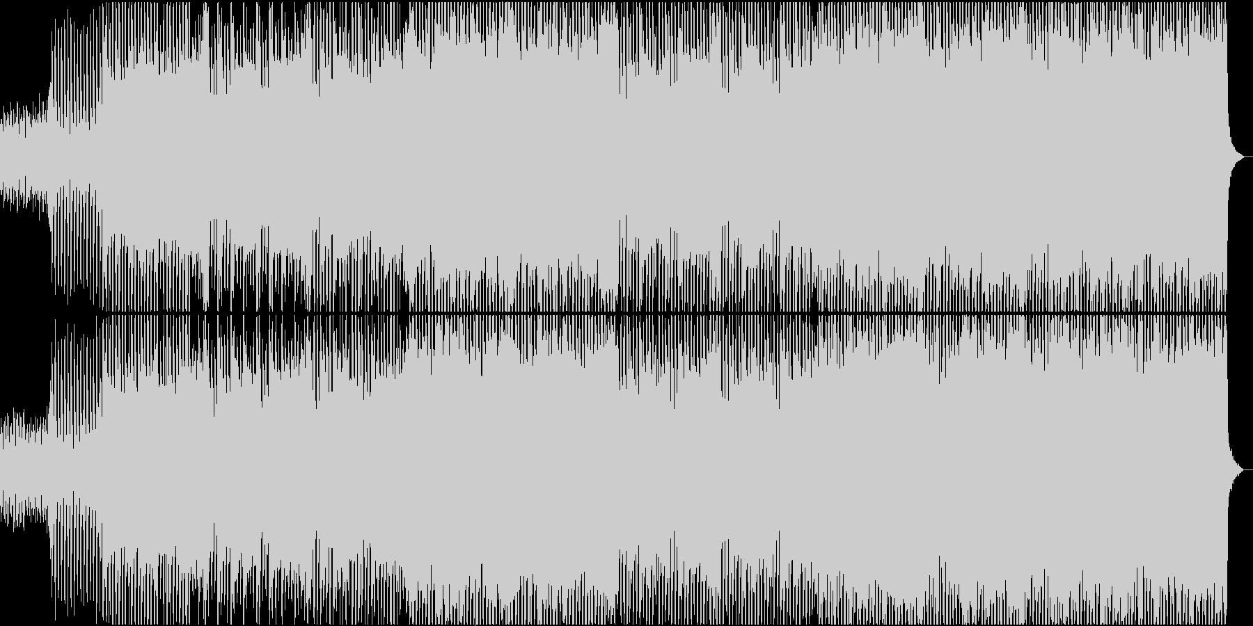 前向きな4つ打ちストリングス・メロ無しの未再生の波形