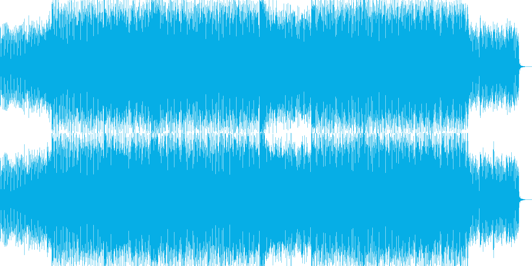 EDMクラブ系ダンスミュージック-78の再生済みの波形