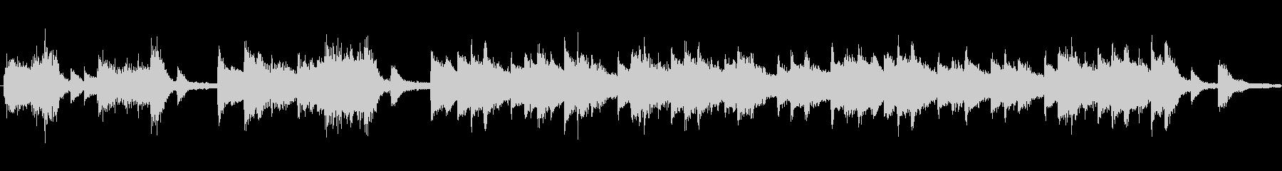 レトロピアノ出囃子オーケストラCMの未再生の波形