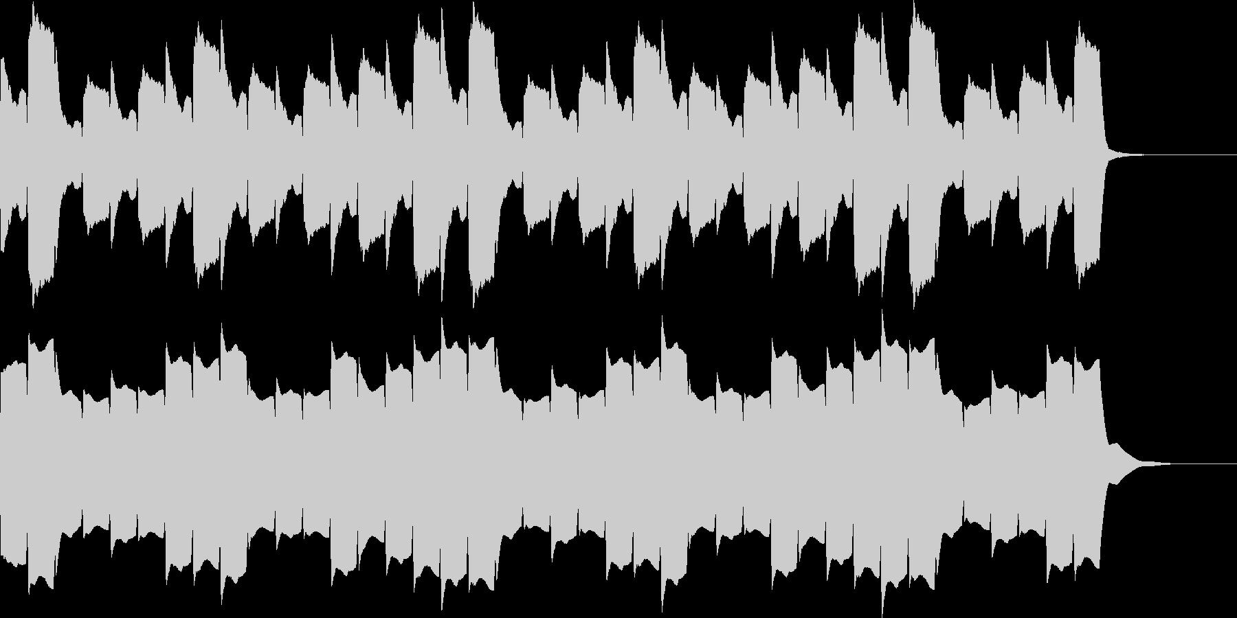 救急車のサイレンD(住宅モード・長)の未再生の波形