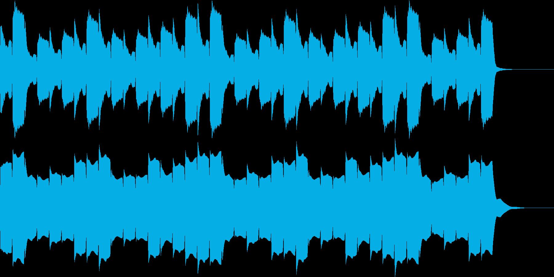 救急車のサイレンD(住宅モード・長)の再生済みの波形