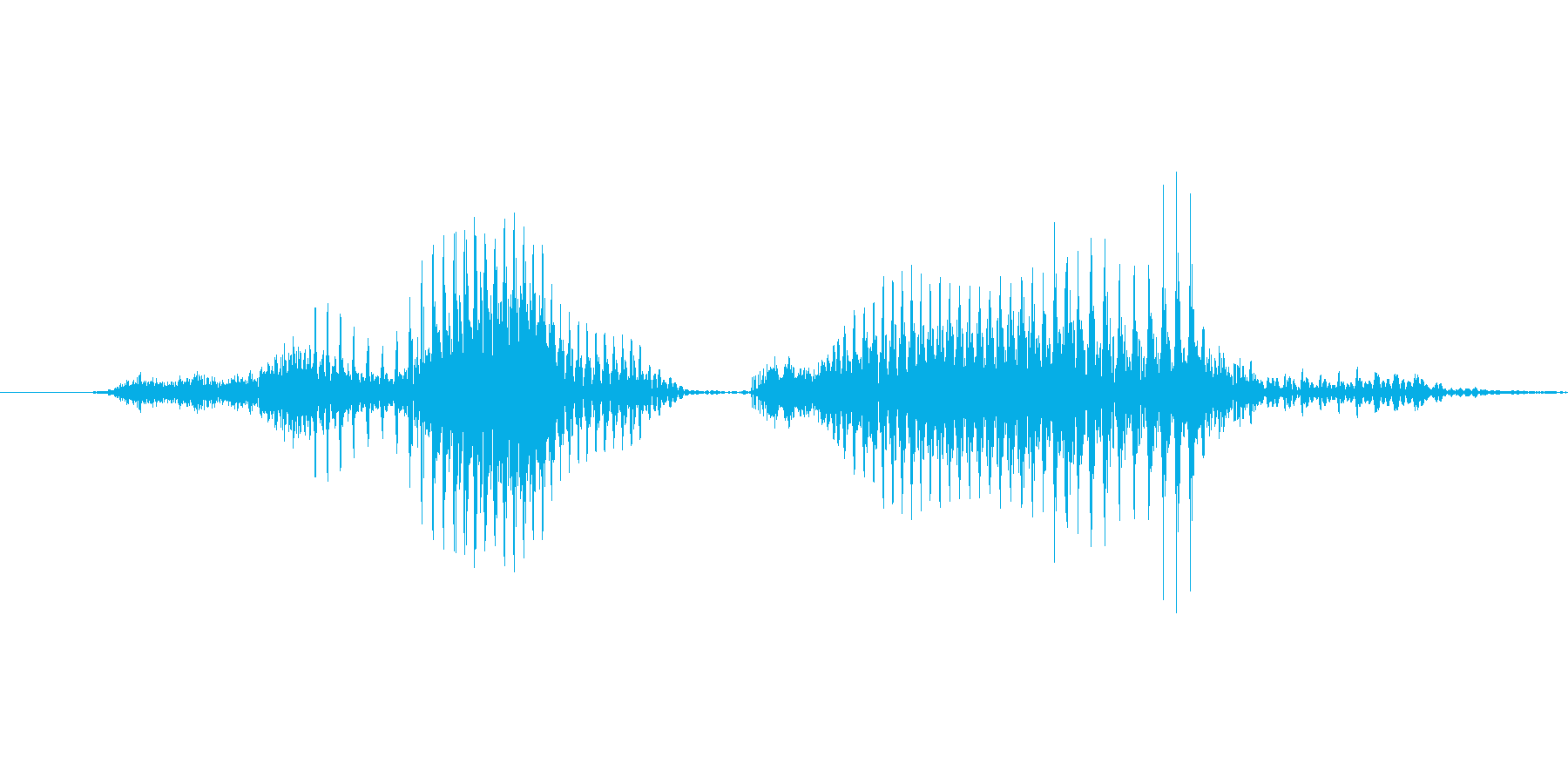 「3 PM」英語発音の再生済みの波形