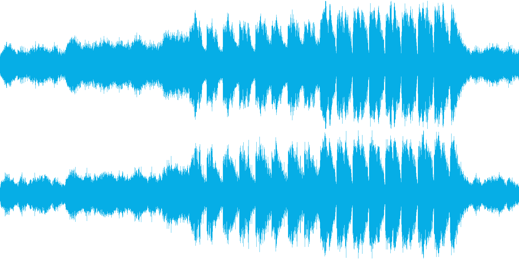 ゲームBGM 妖しい洞窟 ループの再生済みの波形