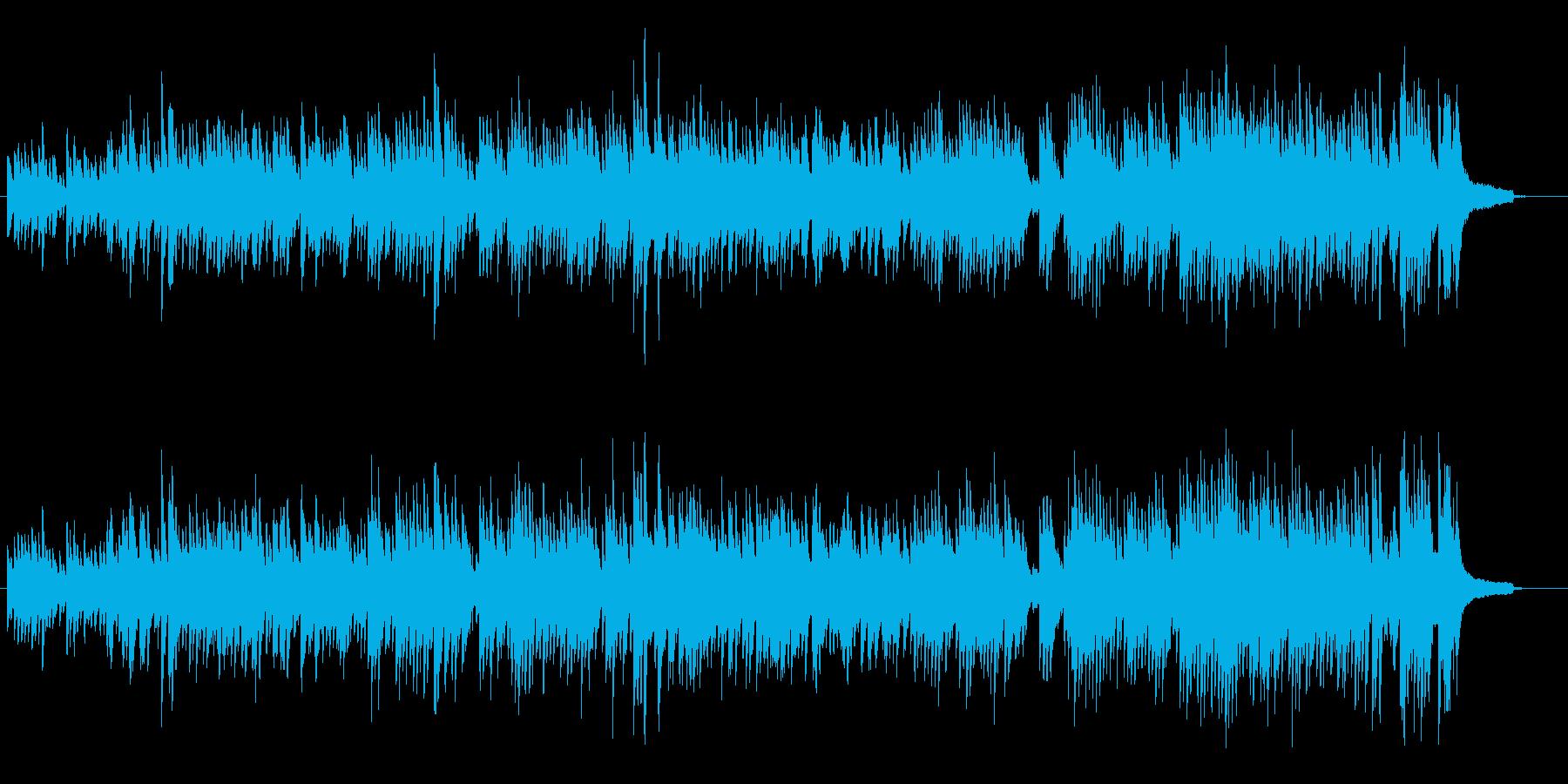 バッハのインベイジョン2番 の再生済みの波形