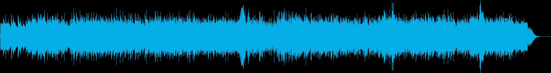 呻くバイオリン・蠢く弦・荒ぶるピアノの再生済みの波形