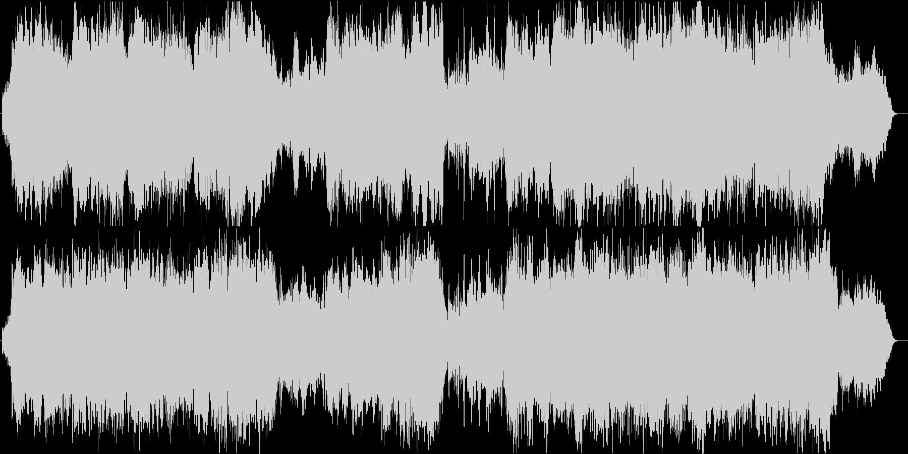 【生演奏】ホルンで奏でる壮大バラードの未再生の波形