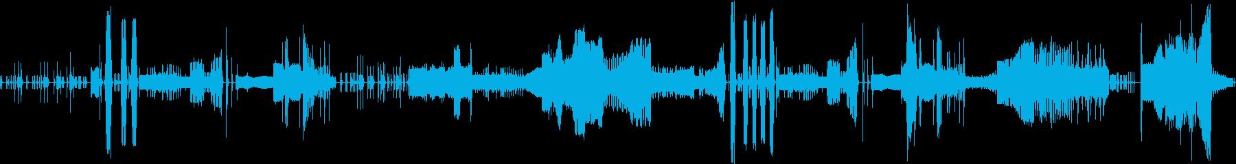 禅の世界3-竹鼓と木鼓と太鼓 の再生済みの波形
