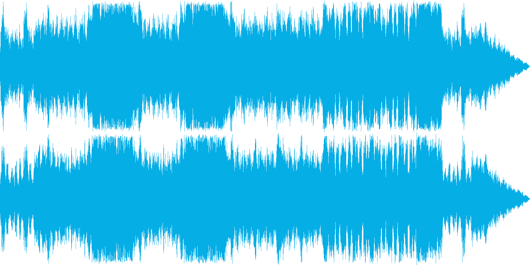 力強い戦闘楽曲2の再生済みの波形