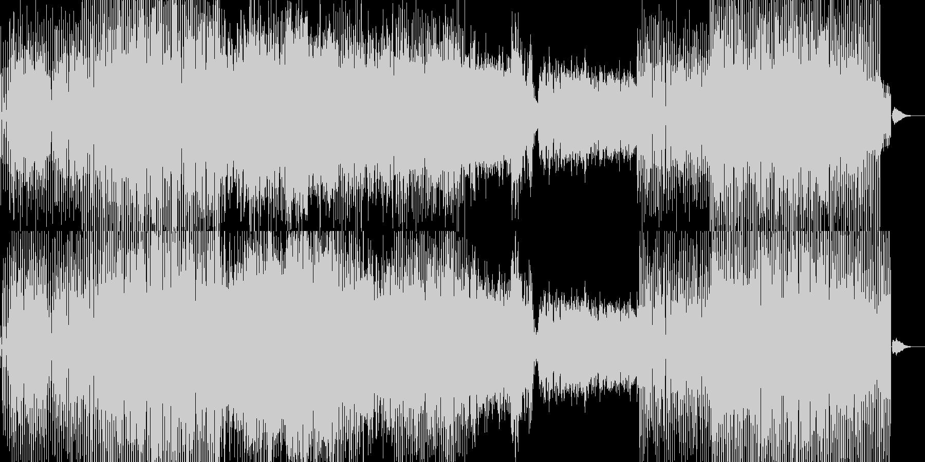 限りなく変な音の未再生の波形