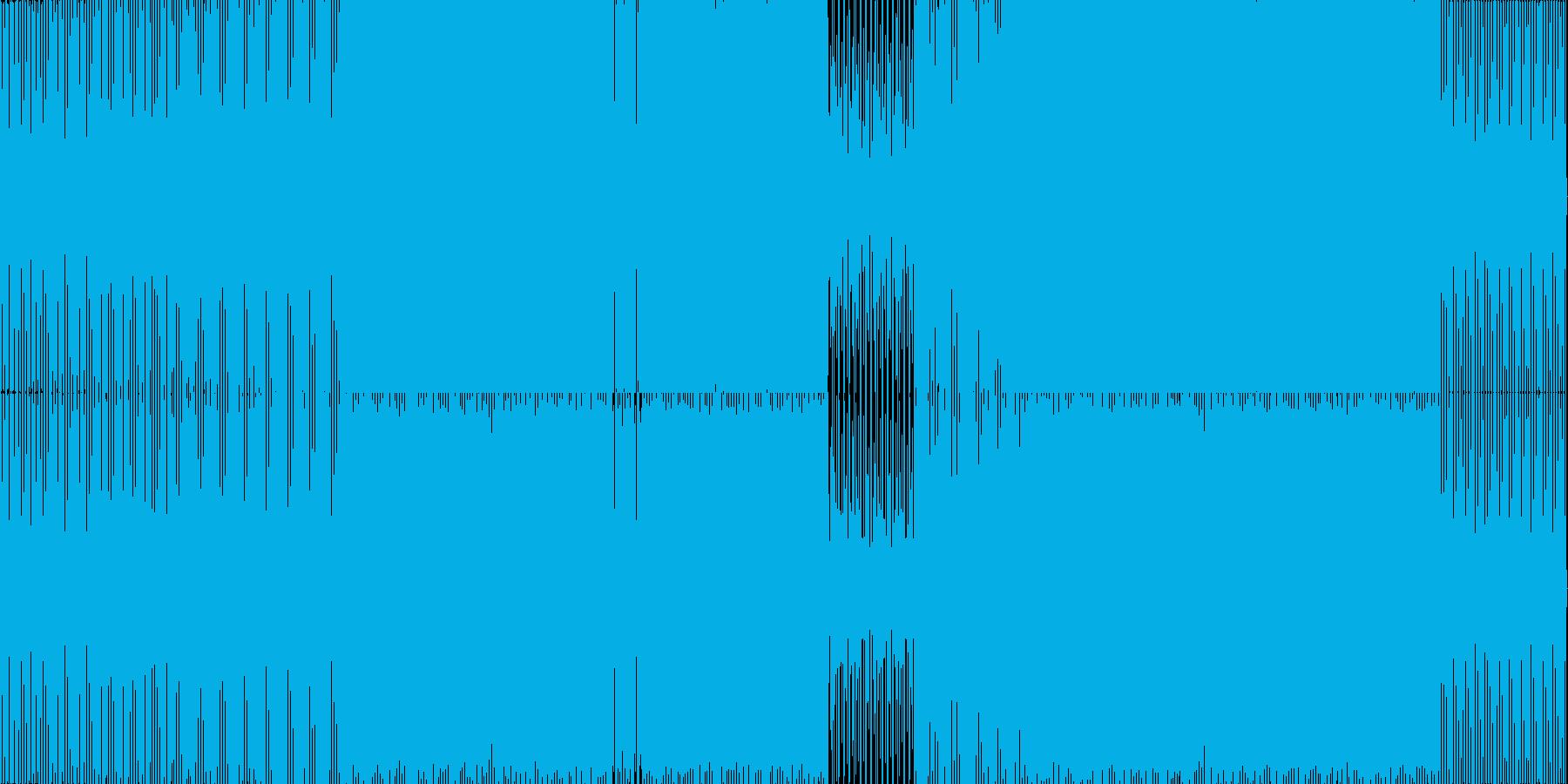 funkyなhouseの再生済みの波形
