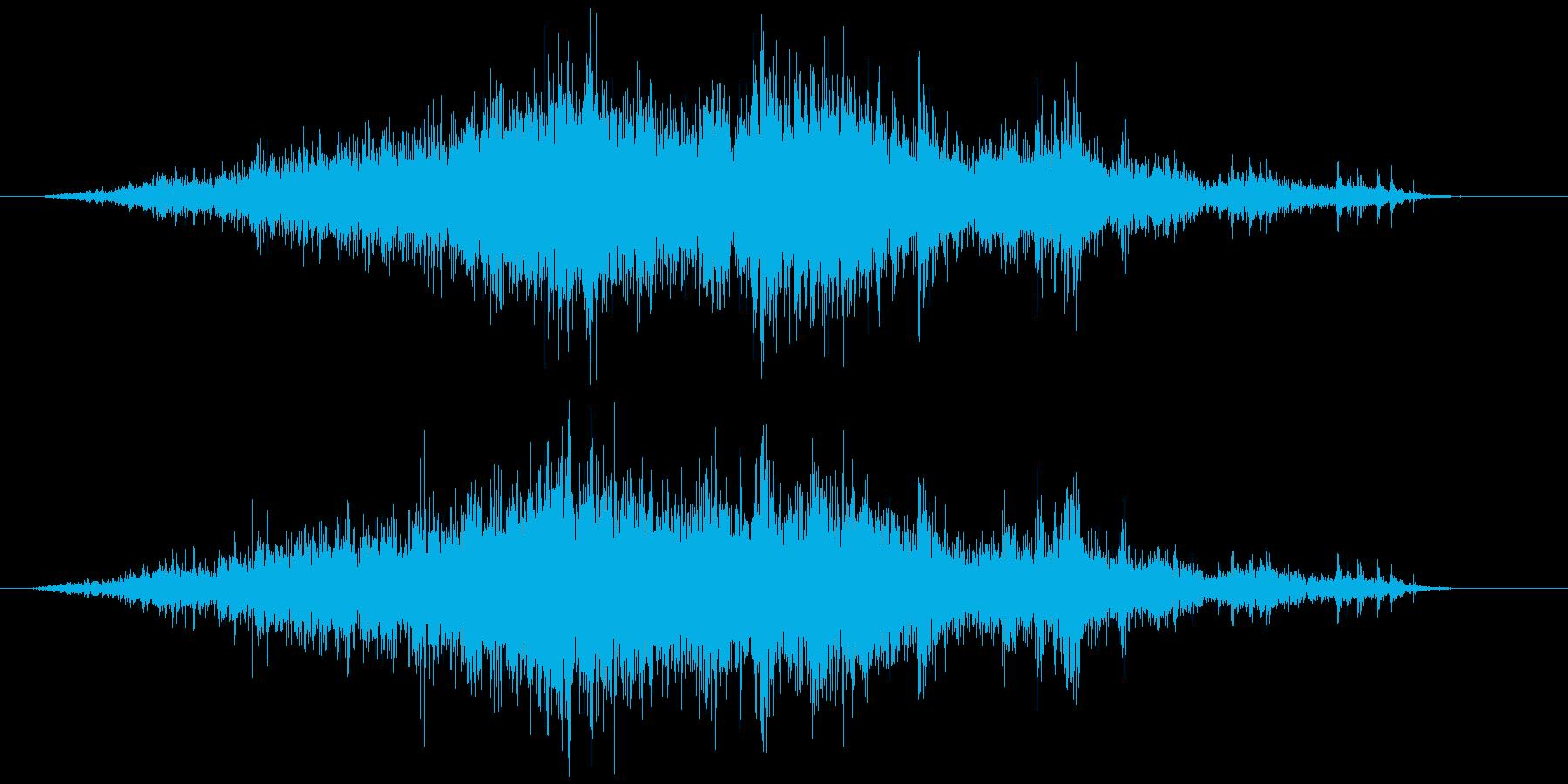メジャー巻尺(コンベックス)シャーッの再生済みの波形