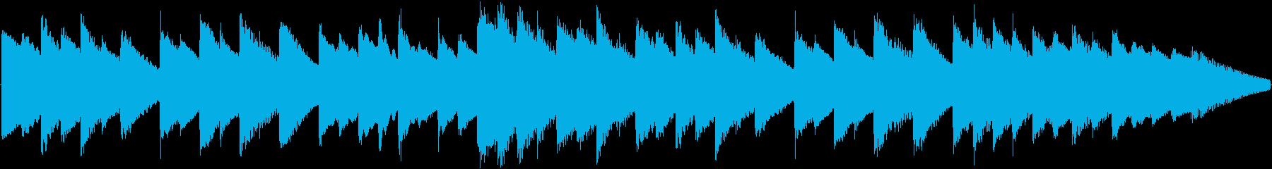 着信音などに使えるオルゴールBGMの再生済みの波形