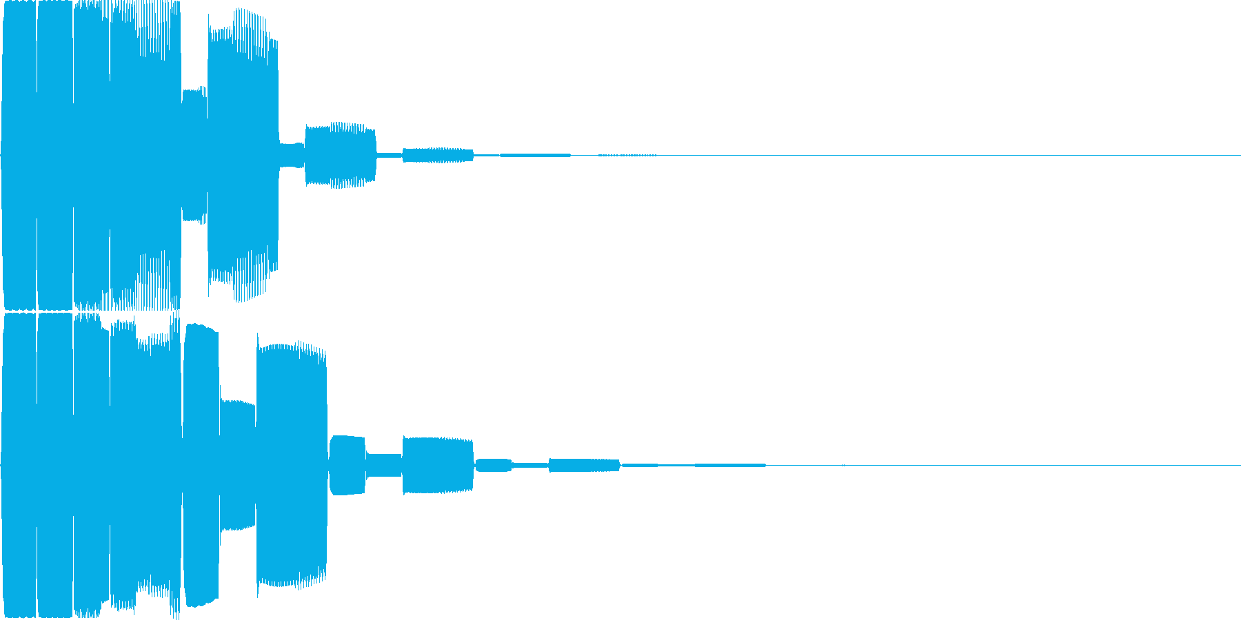 汎用キャンセルボタン - 6の再生済みの波形