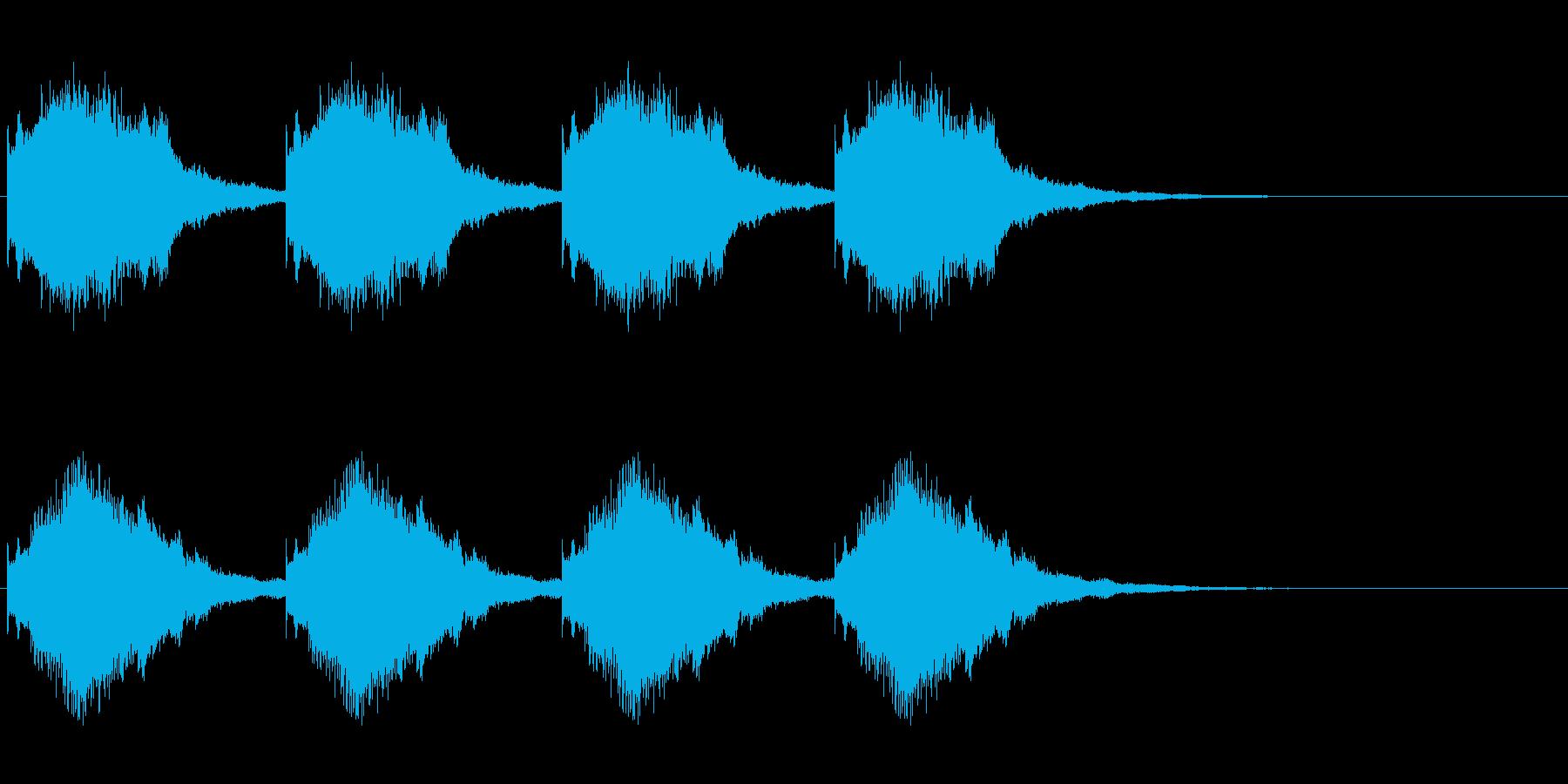 警報 3の再生済みの波形