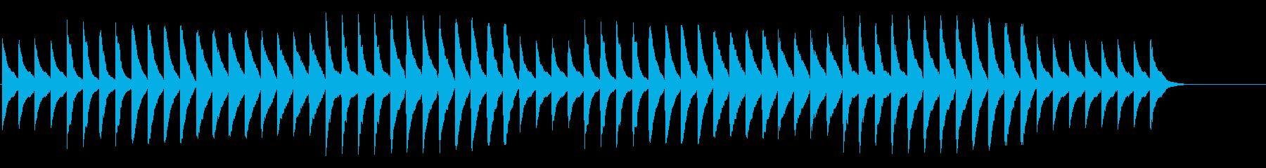 ジャッジメント 緊張の発表 ピアノのみの再生済みの波形