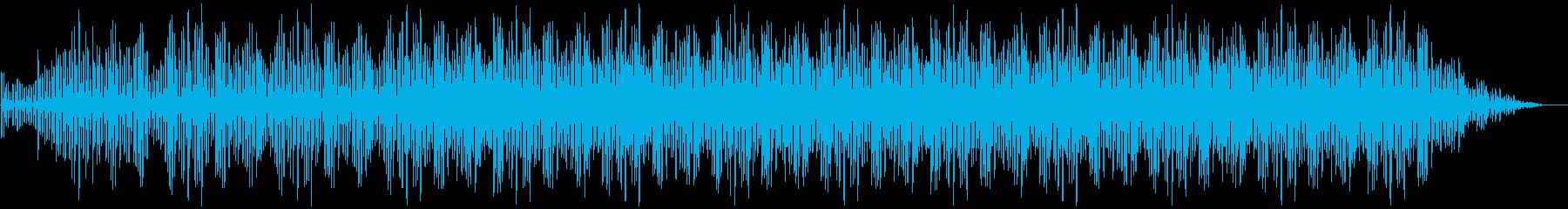 ミニマルなピアノBGM(ストリングス有)の再生済みの波形