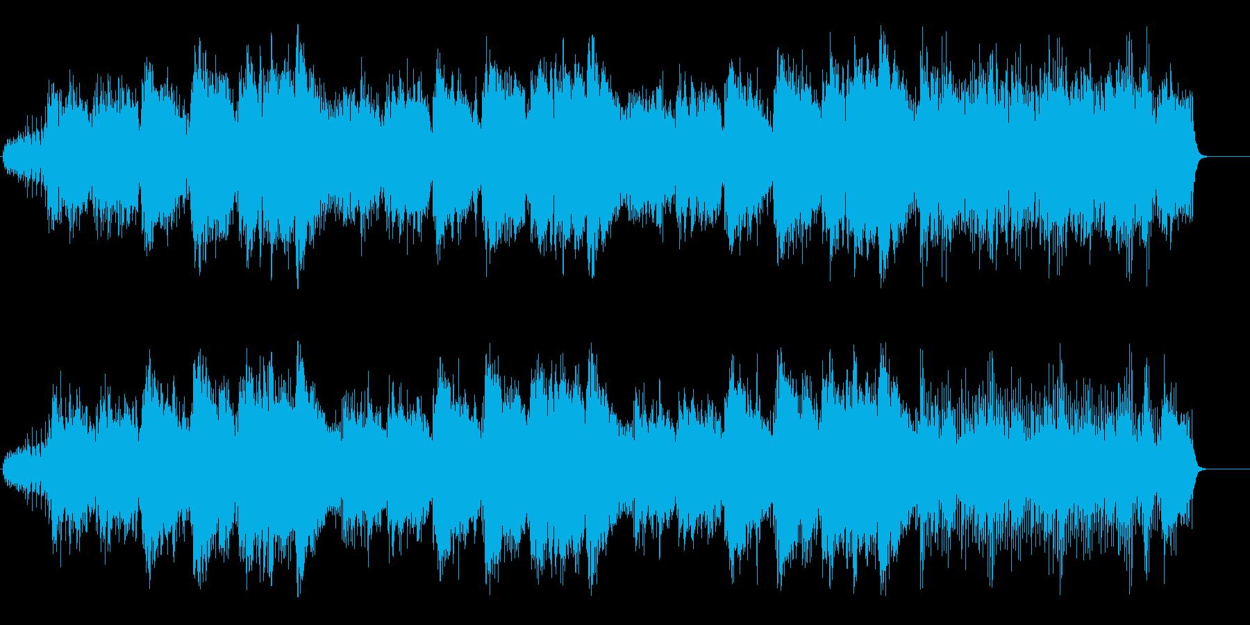 フルート&尺八&琴のフュージョンサウンドの再生済みの波形