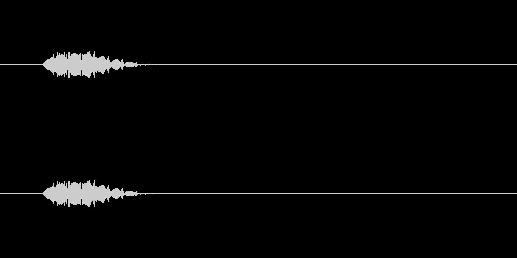 【ポップモーション37-1】の未再生の波形