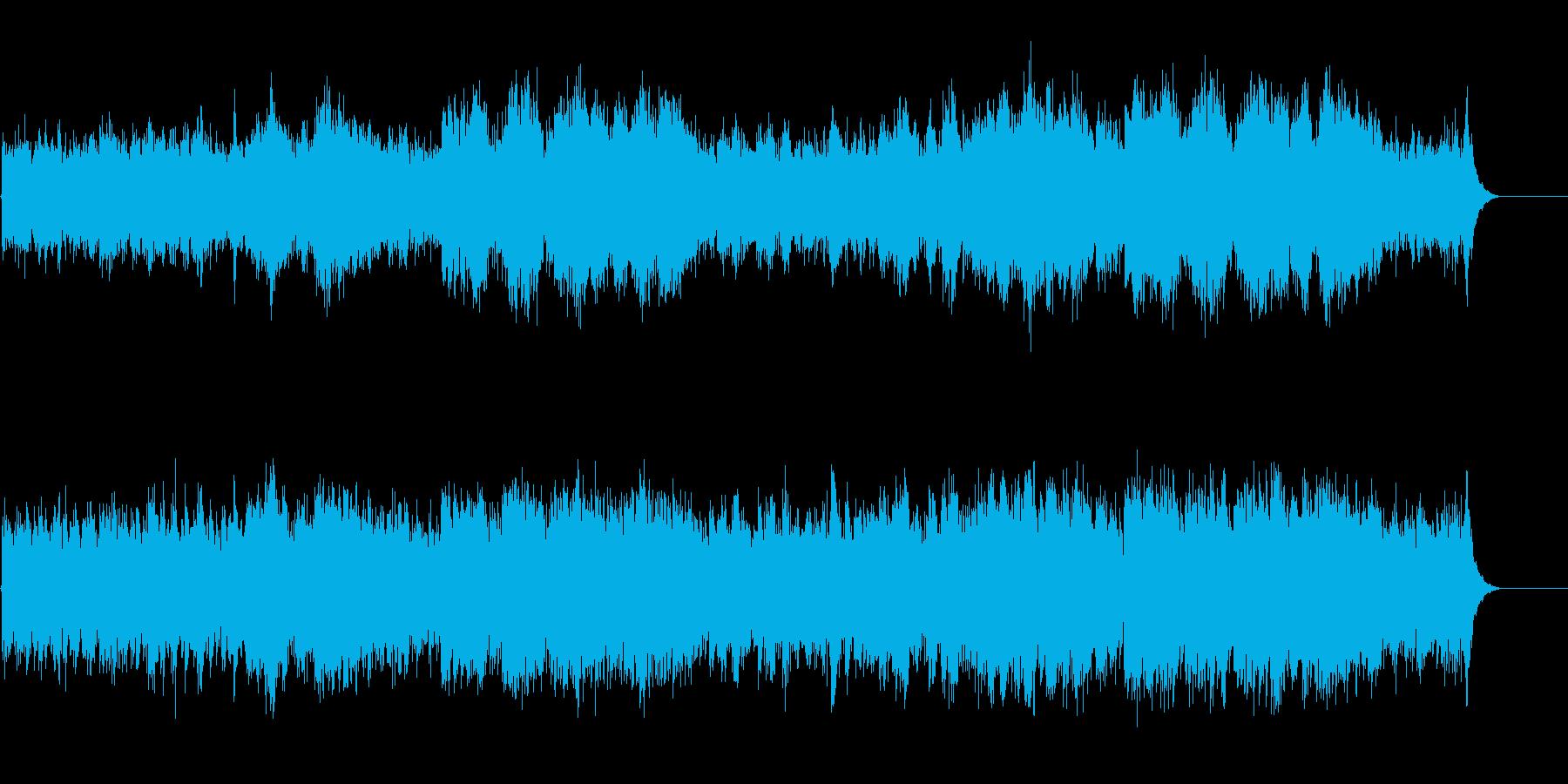 彷徨える哀愁のジプシー・ミュージック風の再生済みの波形