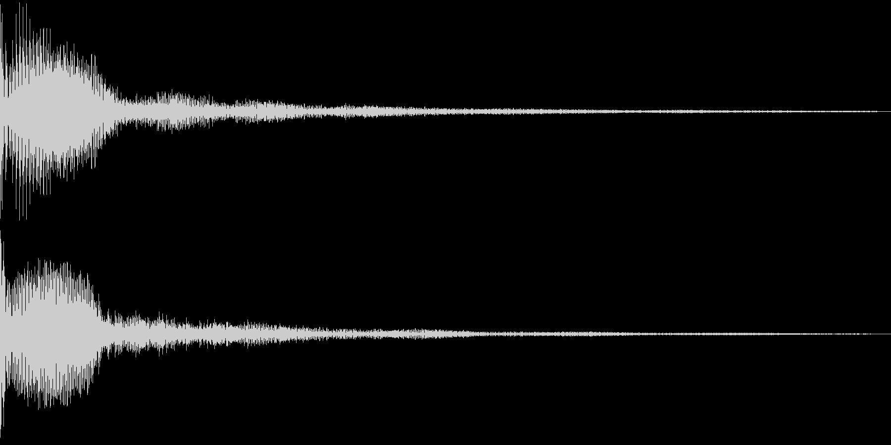 Metallic 近未来的なSFロゴの未再生の波形