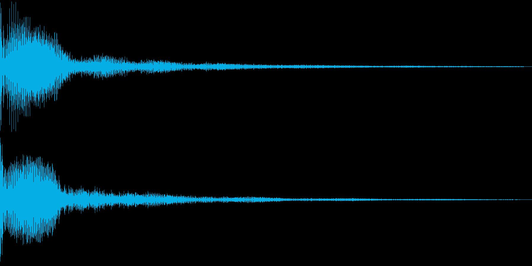 Metallic 近未来的なSFロゴの再生済みの波形