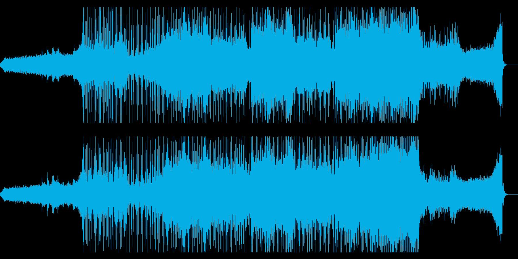 エンディング向けゆったりしたポストロックの再生済みの波形