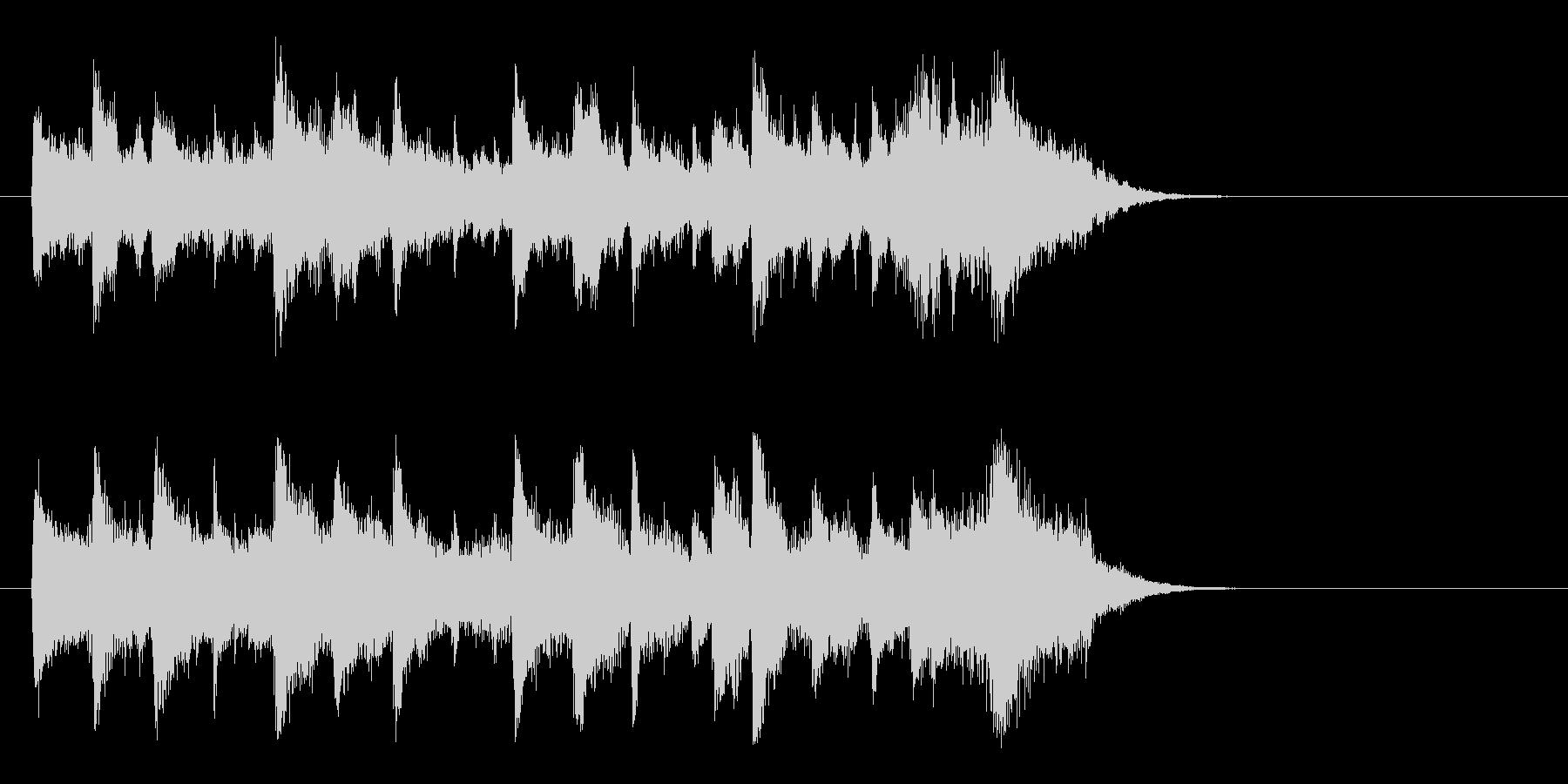 ドキュメント風ポップス(サビ)の未再生の波形
