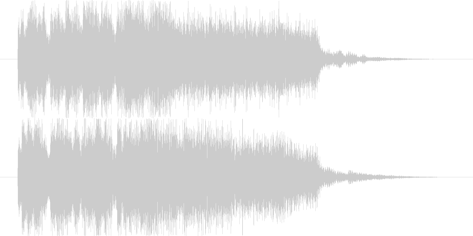 ゲームオーバー ダーク系 の未再生の波形