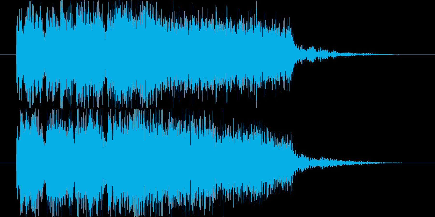 ゲームオーバー ダーク系 の再生済みの波形