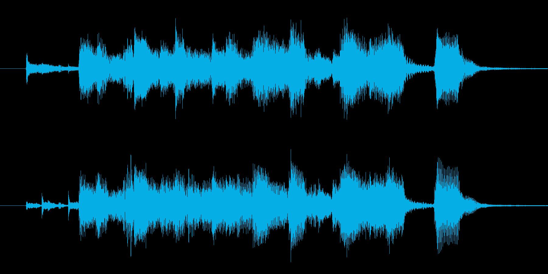ビッグバンド・ゴージャス・ジングルの再生済みの波形