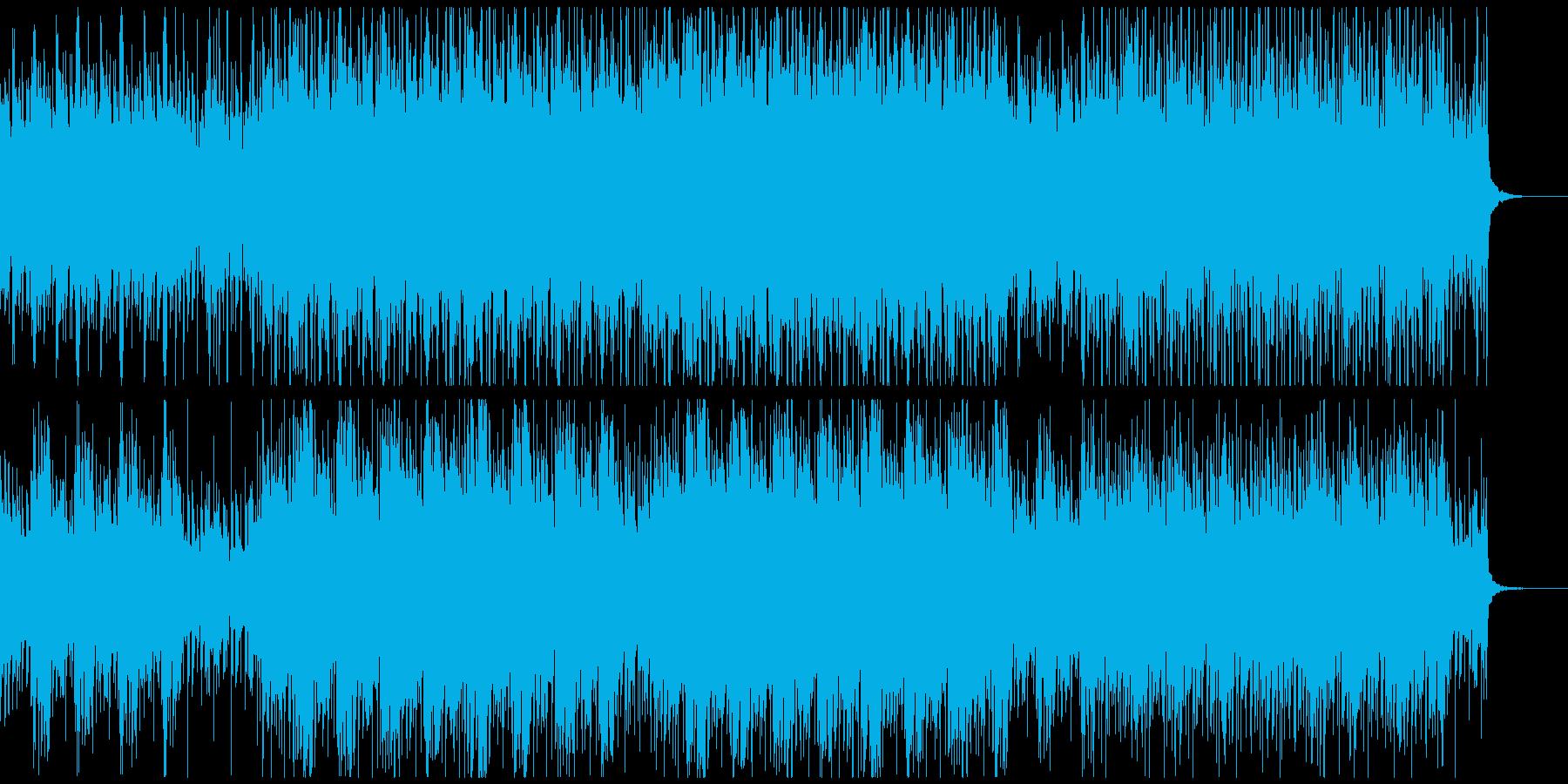企業VPや映像にオープニング向けピアノの再生済みの波形