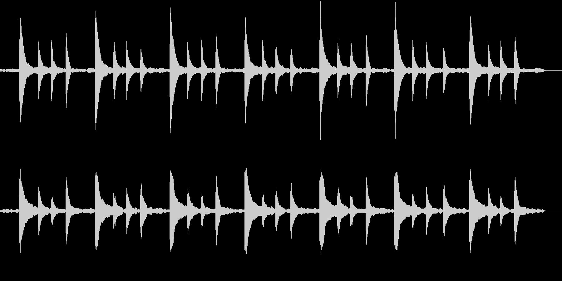 「風景」「映像」に合うピアノBGMの未再生の波形