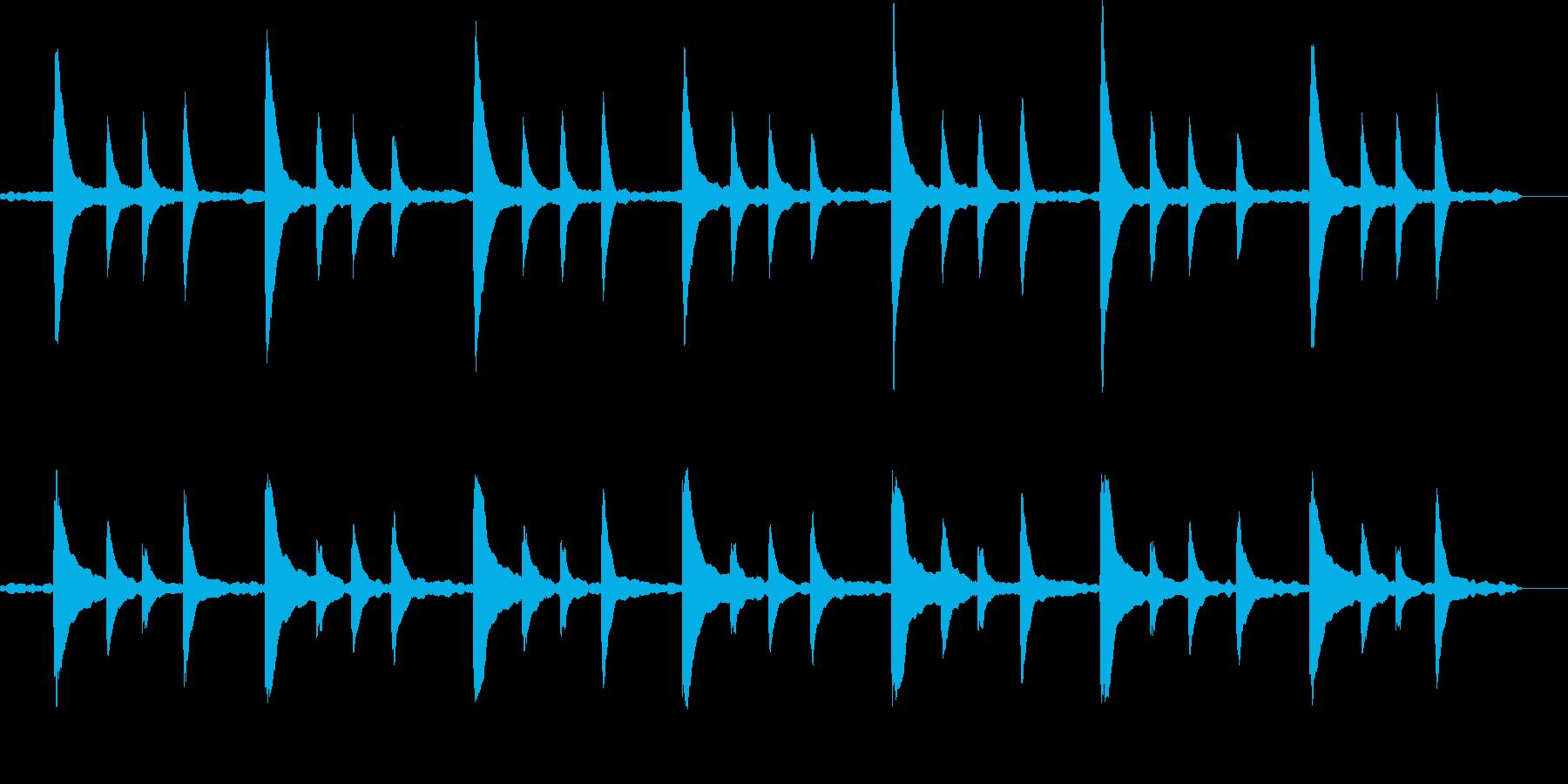 「風景」「映像」に合うピアノBGMの再生済みの波形