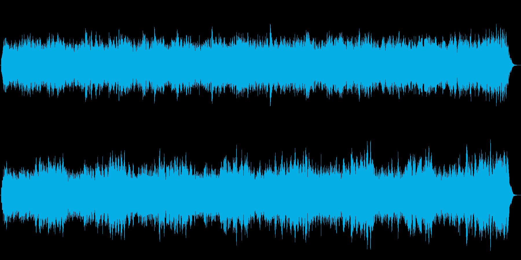 浮遊感あるシンセが美しい楽曲の再生済みの波形